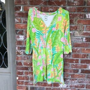 Lilly Pulitzer Terry Cloth coverup dress sz small